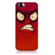 Xtra-Funky Range iPhone 6 (12cm ) Crazy Cartoon Googly Eyes Hard Plastic Case Cover - Angry
