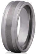 Doma Jewellery MAS03166-9 Tungsten Carbide Ring - Size 9