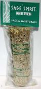 Azure Green RSS7S Sage & Sweetgrass smudge 18cm .