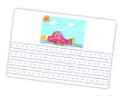 Write Way 60cm x 41cm . Roselle Picture Story Chart Tablet 25 Sheets