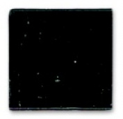 Mosaic Mercantile Glass Authentic Square Mosaic Tile - 1cm x 1cm . - Black 0.5kg.