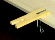 Euro Tool Plastic File Block And Clamp 6.4cm x 19cm .