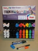 Pentel W56-G Wet Erase Jumbo Yellow Jumbo Chalk Markers