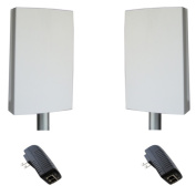 Tycon Systems EZBR-0516- Point To Point Bridge System - Plug And Play 5GHz