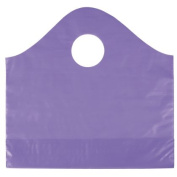 Deluxe Small Business Sales 53-SPWVS-66 12 x 10cm x 28cm . Frosted Wave Merchandise Bags Grape