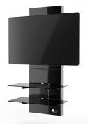 Meliconi Ghost Design 3000 Stand for TV-Black