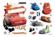 Set of Disney Cars 2 Stickers - 1 Customisable Door Sticker + 18 Wall Stickers