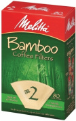 Melitta 63117 80 Count No. 2 Bamboo Filters