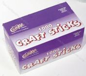 Craft Sticks 4 1/2 X 3/8 1000 Natural