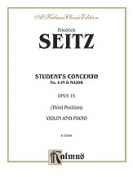 Alfred 00-K03948 SEITZ STUDENTS CONCERTO NO. 4 V