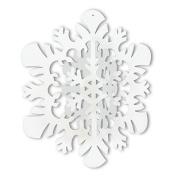 Beistle 22742 3-D Hanging Snowflake Pack Of 12