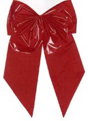Holiday Trim 7256 2 Loop Poly Bow - Red
