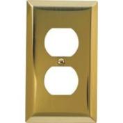 American Tack & Hdwe Co Duplex Plate Br. Brass 163DBR