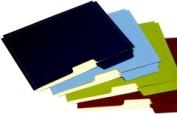 Globe-Weis FP153L10 ASST File Folder Pockets Letter Size10 per PK Assorted Colours