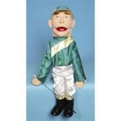 Sunny Toys GS2817 70cm . Jockey Sculpted Face Puppet
