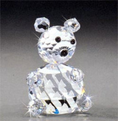 Asfour Crystal 628-40 1.88 L x 2.75 H in. Crystal Bear Animals Figurines