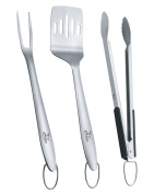 ZenUrban 880006A Barbecue Grill Tool Set 3-Piece