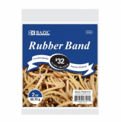 Bazic Products 6101-36 BAZIC 60ml- 56.70 g number 32 Rubber Bands - Case of 36