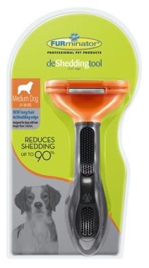 Furminator 811794010874 DOG LONG HAIR MED D-SHED