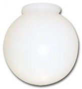 National Brand Alternative 556449 Ball Globe With Fitter Neck 20cm . -Pack of 3