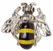Yellow Bee Tie Tac by Zennor