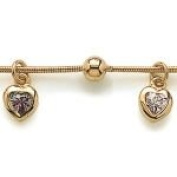 Women's Gold-Plated Bracelet length