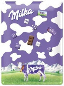 Milka Magnetic Memo Board 30 x 40 CM with 9 magnets