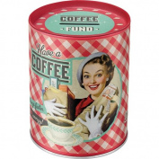 """Nostalgic Art 31007 Say it 50's Style Motif and """"Have A Coffee., money"""