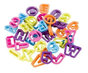 Alphabet and Numbers Cutters, 36 Pieces - Various Colours [version:x8.7] by DELIAWINTERFEL