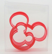 Mickey Mouse Set of 2 Cookie Cutters