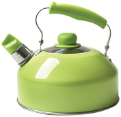 """Excèlsa """"Pop Cook"""" Kettle With Whistle 2 Lt. Green Colour"""