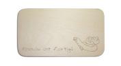 "Breakfast Board with German Text ""AAL Engraving People-Includes Board Breakfast Board'Angler / Fisher"