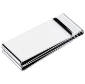 Visol VMC907 Trio Stainless Steel Money Clip