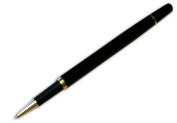 Dacasso a9065 Black Pen Gold Accented