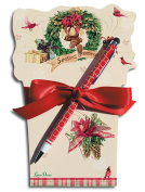 Lissom Design 22058 Diecut Notepad - Holiday Favourites