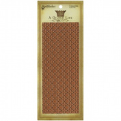 Spellbinders GLT003 A Gilded Life Long Texture Plate-Wrought Iron