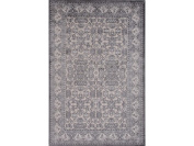 Jaipur Rugs RUG121773 Transitional Oriental Rayon and Chenille Ivory & Grey Area rug - 5.1cm x 7.6cm .