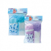 Bulk Buys 4PC Bath Set Assorted Colours - Case of 72