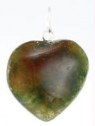 AzureGreen GHEA Heart Pendant Various Stones