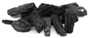 AzureGreen GUBTB 0.5kg Untumbled Black Tourmaline Stones
