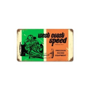 Past Time Signs MTY082 West Coast Speed Automotive Vintage Metal Sign