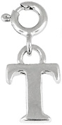 Doma Jewellery MAS00421 Sterling Silver Initial Charm - T