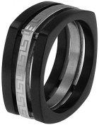 Doma Jewellery MAS03132-10 Stainless Steel Ring - Size 10