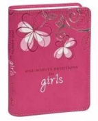 Christian Art Gifts 364799 One Minute Devotions For Girls One Minute Devotions Pink Luxleather