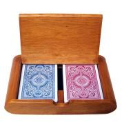 Bry Belly GKEM-202.GPLA-001 Wooden Box Set Arrow Red-Blue Wide Regular