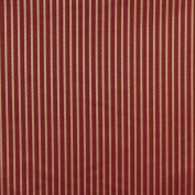 Designer Fabrics B616 140cm . Wide Red Striped Jacquard Woven Upholstery Fabric