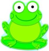 Carson Dellosa Frog Design Single Cutout Pack - 36