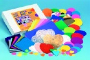Hygloss Ultimate Die-Cut Collage Paper Pack 1100 Sheets