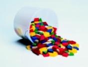 School Smart Plastic Pattern Blocks