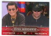 Phil Hellmuth and Scotty Nguyen trading card 2006 Razor Poker No.53